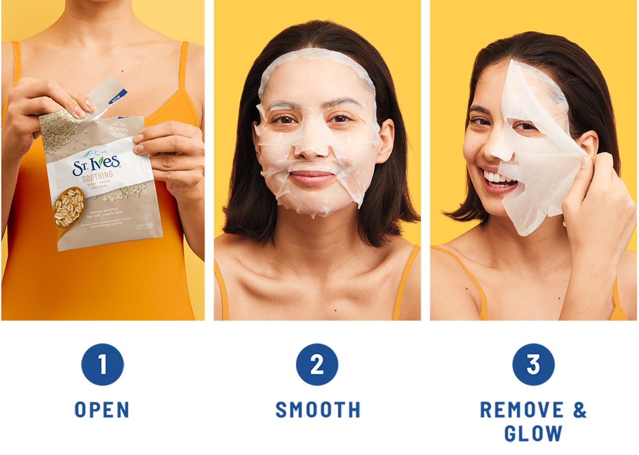 St Ives Modo De Uso Soothing Mask Oatmeal